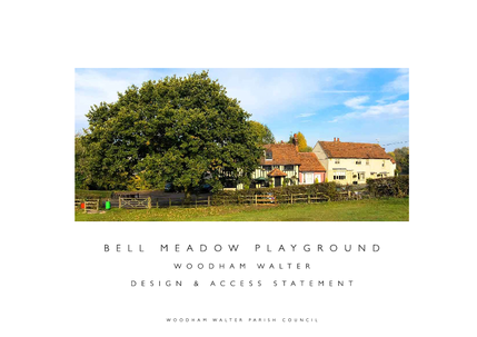 Bell Meadow playground design and access statement