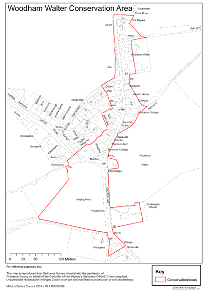 Conservation Area Map